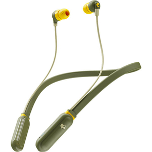 Casti SKULLCANDY Ink'd+, S2IQW-M687, Bluetooth, In-Ear, Microfon, verde-galben