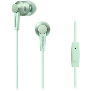 Casti PIONEER SE-C3T-GR, in ear, microfon, verde