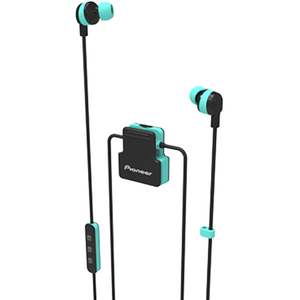 Casti PIONEER ClipWear Active SE-CL5BT-GR, Bluetooth, In-Ear, Microfon, vernil