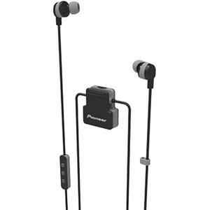 Casti PIONEER ClipWear Active SE-CL5BT-H, microfon, in ear, wireless, gri