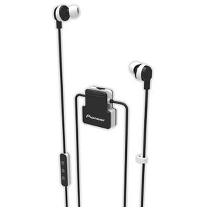 Casti PIONEER ClipWear Active SE-CL5BT-W, Bluetooth, In-Ear, Microfon, alb