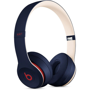 Casti BEATS Solo3 Club Collection, Bluetooth, On-Ear, Microfon, albastru-crem