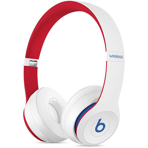 Casti BEATS Solo3 Club Collection, Bluetooth, On-Ear, Microfon, alb-rosu