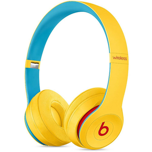 Casti BEATS Solo3 Club Collection, Bluetooth, On-Ear, Microfon, galben-albastru deschis