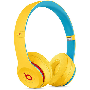CASTI BEATS Solo3 Club Collection, Bluetooth, On-Ear, Microfon, galben-albastru deschis