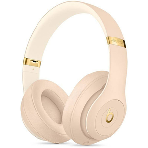 Casti BEATS Studio 3 Skyline Collection, MTQX2ZM/A, Bluetooth, Over-Ear, Microfon, Noise Cancelling, Desert Sand