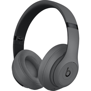Casti BEATS Studio 3 MTQY2ZM/A, Bluetooth, Over-Ear, Microfon, Noise Cancelling, gri