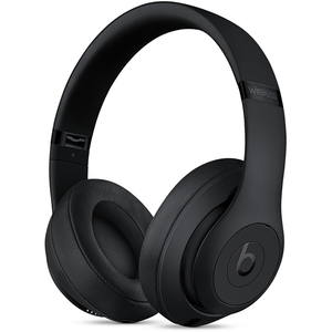 Casti BEATS Studio 3 MQ562ZM/A, Bluetooth, Over-Ear, Microfon, Noise Cancelling, negru