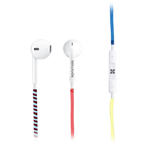 Casti PROMATE Tribe, Cu Fir, In-Ear, Microfon, roz