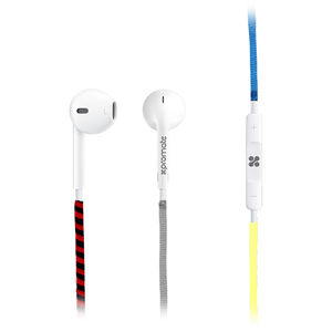 Casti PROMATE Tribe, Cu Fir, In-Ear, Microfon, rosu