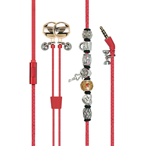 Casti PROMATE Vogue 2, Cu Fir, In-ear, Microfon, rosu