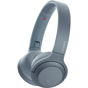 Casti on-ear portabile cu microfon SONY WHH800L, Hi-Res, Bluetooth, NFC, Wireless, Albastru