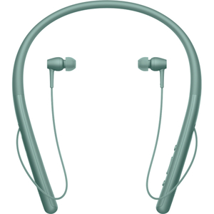 Casti SONY WIH700G, Bluetooth, NFC, In-Ear, Microfon, Hi-Res, verde