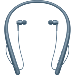 Casti in-ear cu microfon SONY WIH700L, Hi-Res, Bluetooth, NFC, Wireless, Albastru