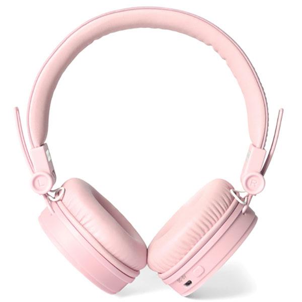 Casti FRESH 'N REBEL Caps 156304, Bluetooth, On-Ear, Microfon, roz