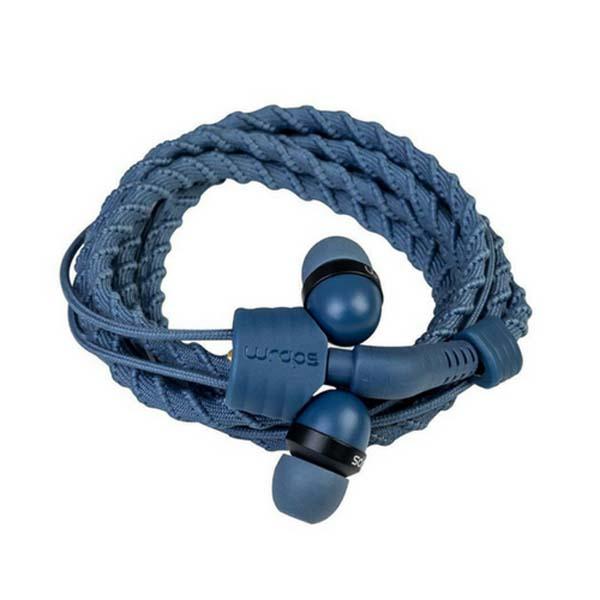 Casti Wraps Talk 159858, Cu Fir, In-ear, Microfon, albastru