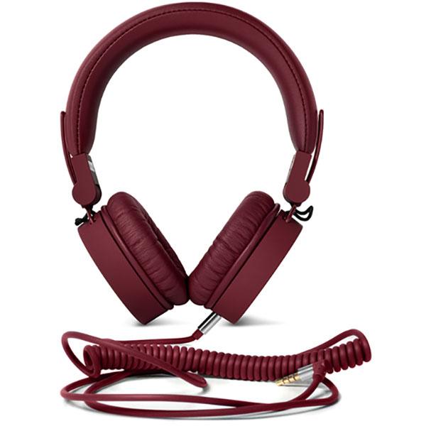 Casti FRESH 'N REBEL Caps 180364, Cu Fir, On-Ear, Microfon, rosu