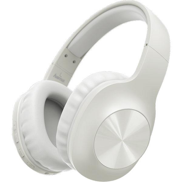 Casti HAMA Caliypso, 184062, Bluetooth, Over-Ear, Microfon, alb
