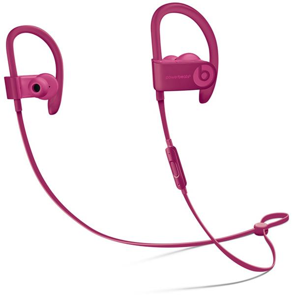 Casti BEATS Powerbeats3 Wireless, Bluetooth, In-Ear, Microfon, rosu