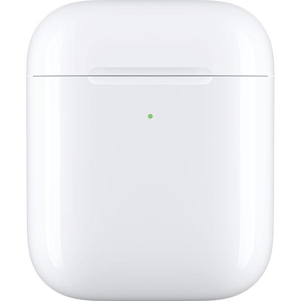 Carcasa incarcare wireless pentru APPLE AirPods, MR8U2ZM/A, alb