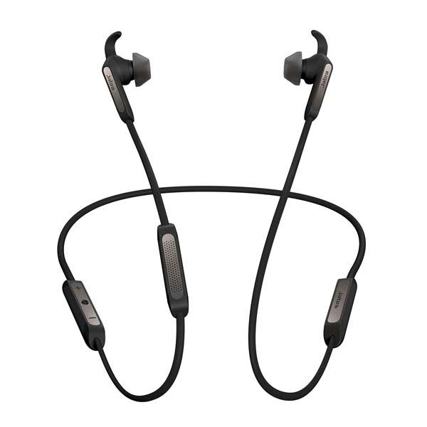 Casti JABRA Elite 45e, Bluetooth, In-Ear, Microfon, Noise Cancelling, negru-argintiu