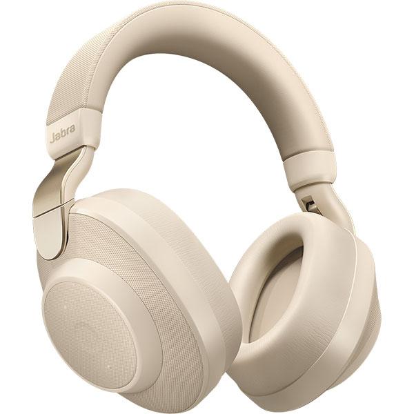 Casti JABRA Elite 85h, Bluetooth, Over-Ear, Microfon, Noise Cancelling, bej