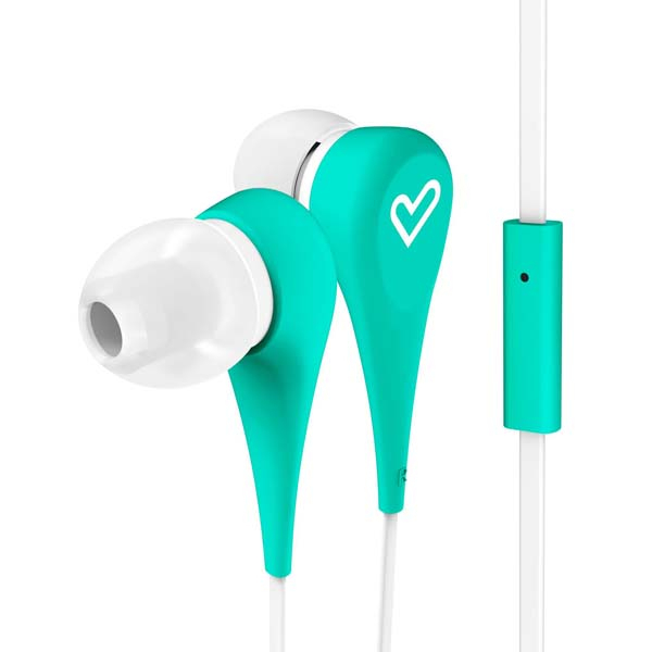 Casti ENERGY SISTEM Style 1+, ENS445998, Cu Fir, In-ear, Microfon, verde