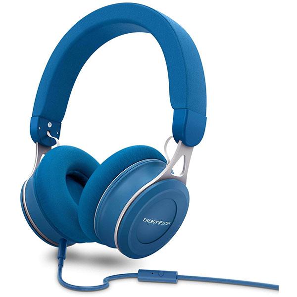 Casti ENERGY SISTEM Urban 3, ENS446896, Cu Fir, Over-Ear, Microfon, albastru