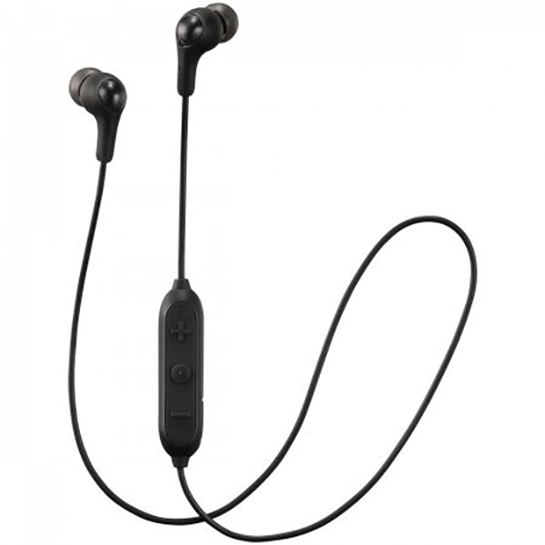 Casti JVC HA-FX9BT-B-E, Bluetooth, In-Ear, Microfon, negru