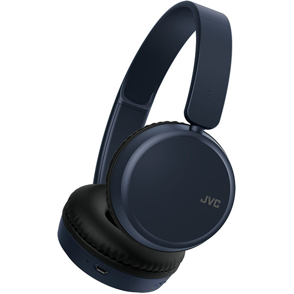 Casti JVC HA-S35BT-A-U, Bluetooth, On-Ear, Microfon, albastru