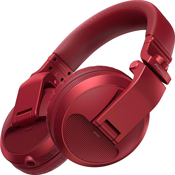 Casti PIONEER HDJ-X5BT-R, Bluetooth, On-Ear, Microfon, rosu