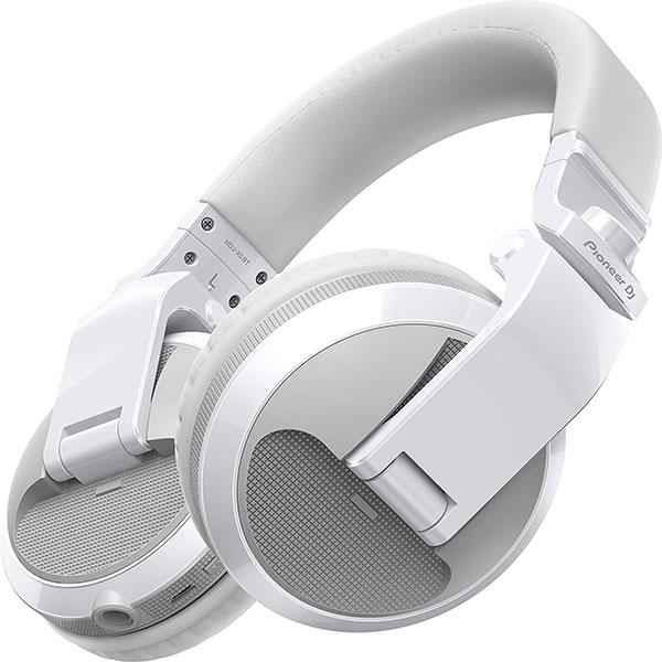 Casti PIONEER HDJ-X5BT-W, Bluetooth, On-Ear, Microfon, alb