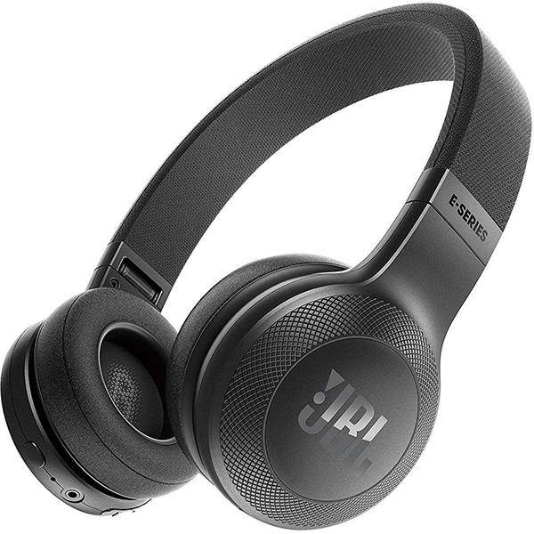 Casti JBL E45BT, Bluetooth, On-Ear, Microfon, negru