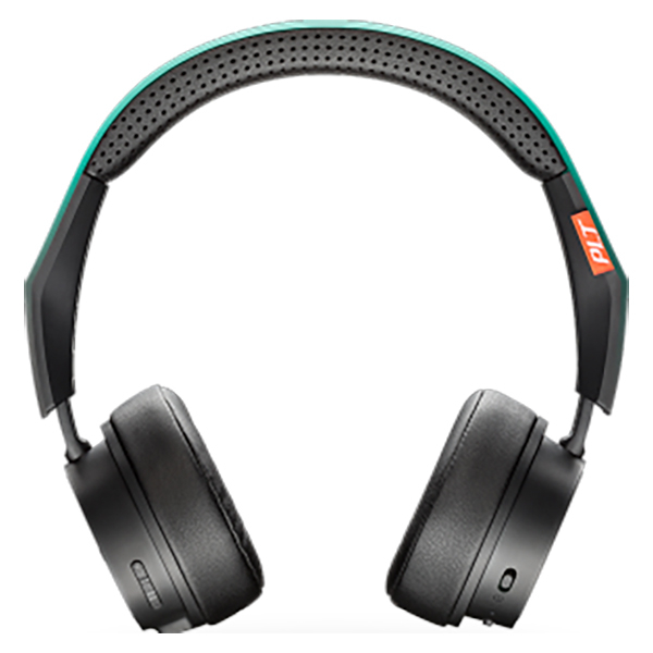 Casti PLANTRONICS BackBeat Fit 500, Bluetooth, On-Ear, Microfon, turcoaz