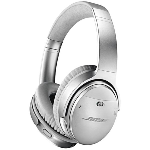 Casti on-ear cu microfon Bluetooth BOSE Quiet Comfort 35 II, Noise Cancelling, Argintiu