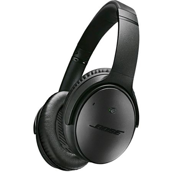 Casti on-ear cu microfon Bluetooth BOSE Quiet Comfort 35 II, Noise Cancelling, Negru