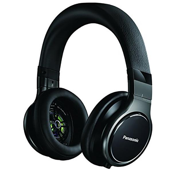 Casti PANASONIC RP-HD10E-K, Cu Fir, On-Ear, negru