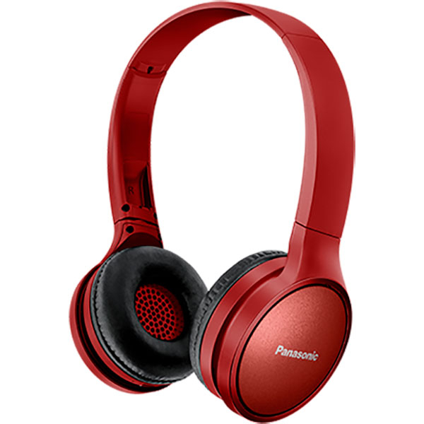 Casti PANASONIC RP-HF410BE, Bluetooth, On-Ear, Microfon, rosu