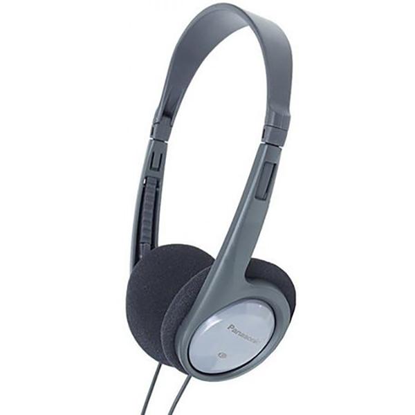 Casti PANASONIC RP-HT010E-H, Cu Fir, On-Ear, negru