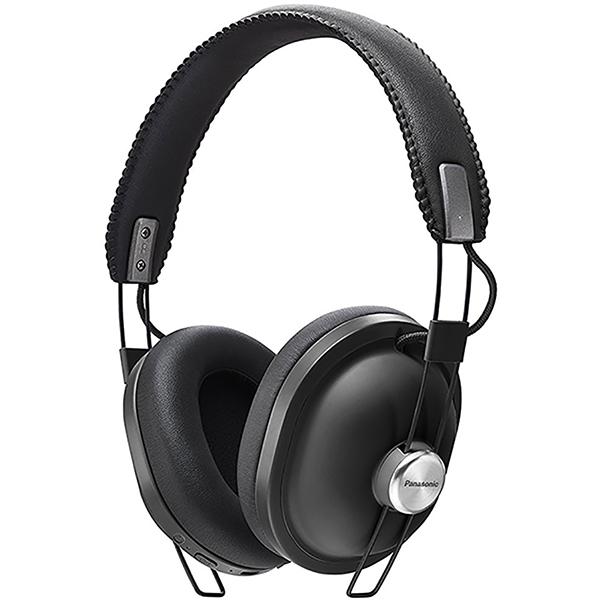 Casti PANASONIC RP-HTX80BE-K, Bluetooth, On-Ear, Microfon, negru