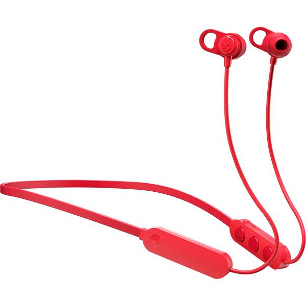 Casti SKULLCANDY Jib+, S2JPW-M010, Bluetooth, In-Ear, Microfon, rosu