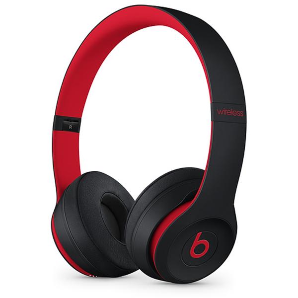 Casti BEATS Solo3 Decade Collection MRQC2ZM/A, Bluetooth, On-Ear, Microfon, negru-rosu