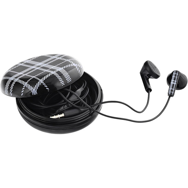 Casti TELLUR Berry TLL162182, Cu fir, In-Ear, Microfon, negru
