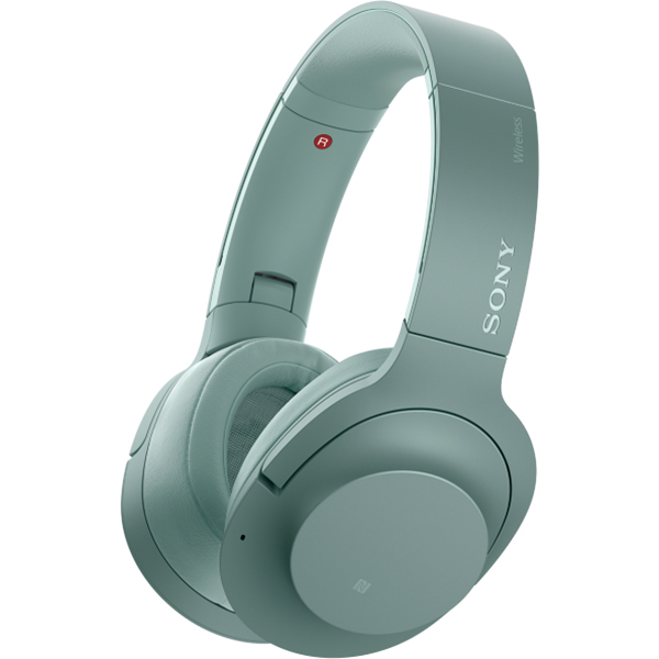 Casti SONY WHH900NG, Bluetooth, NFC, On-Ear, Microfon, Noise Cancelling, Hi-Res, verde