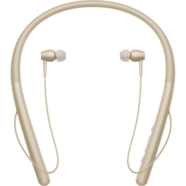 Casti in-ear cu microfon SONY WIH700N, Hi-Res, Bluetooth, NFC, Wireless, Auriu