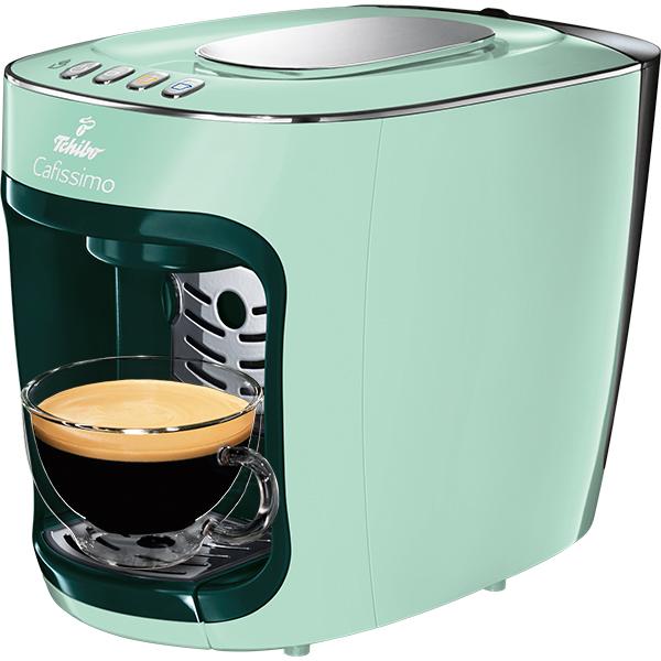 Espressor TCHIBO Cafissimo Mini Frosted Green 338649, 0.6l