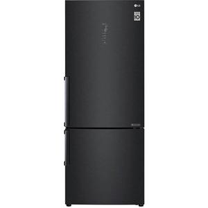 Combina frigorifica LG GBB569MCAZB, 445 l, 185 cm, Clasa A++, negru