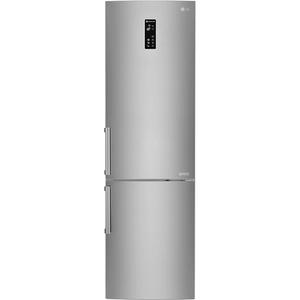 Combina frigorifica LG GBB60SAFFB, 343 l, 201 cm, A+++, argintiu
