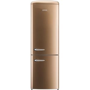 Combina frigorifica Gorenje Retro ONRK193CO, No Frost, A+++, 307 l, Afisaj Led, Royal Coffee