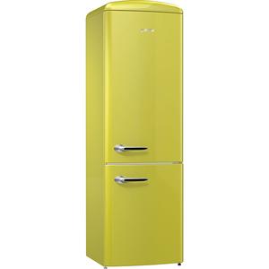 Combina frigorifica GORENJE ORK192AP, 322 l, 194 cm, A++, verde